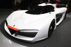 Pininfarina H2 Speed at the 2016 Geneva Motor Show