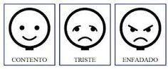 Resultado de imagen de pictogramas emociones arasaac
