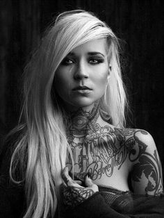 Model Of The Day: Sara Fabel Photography By Jake Raynor Tattoo Girls, Girl Tattoos, Tatoos, Sara Fabel, Hot Girls, Piercings, Artists And Models, Portraits, Cinema