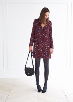 A little longer or as a tunic. Cute Dresses, Casual Dresses, Casual Outfits, Fashion Outfits, Womens Fashion, Beautiful Outfits, Cool Outfits, Cute Tights, Outfits