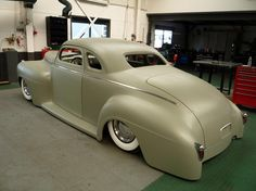 Maybe you remember my post about this bare metal 1941 Plymouth Coupe. While surfing the HAMB tonight, I stumbled upon some recent update p. Rat Rod Cars, Rat Rods, Vintage Cars, Antique Cars, Old Hot Rods, Traditional Hot Rod, Lead Sled, Sweet Cars, Old Cars