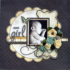 Beautiful!!  Layout by Stacey Apps.  Creative Scrappers sketch from Amarilys Doria