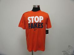 Men's Apparel : Nike Stop Fakes Shirt #Nike #tcpkickz