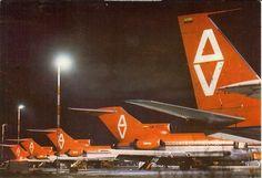 Avianca B-707 and B-727s