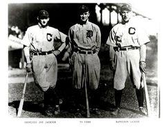 Shoeless Joe Jackson Ty Cobb Nap Lajoie Vintage 8x10 Photo - Mint Condition by Baseball - Vintage 8x10 Photos, http://www.amazon.com/dp/B008AQHBGC/ref=cm_sw_r_pi_dp_9twgsb1AG722J