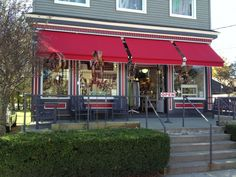 Commercial Retractable Awnings - Jamestown Awning and Party Tents