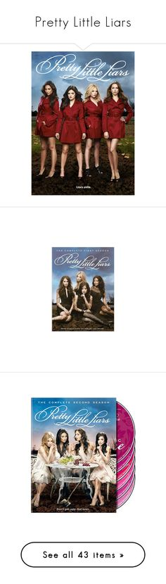 """Pretty Little Liars"" by amysykes-697 ❤ liked on Polyvore featuring movies, pretty little liars, pll, backgrounds, people, photos, pics, home, home decor and wall art"