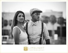 1920 style, style, Great Gatsby, engagement session, University of Tampa, www.stepintothlimelight.com