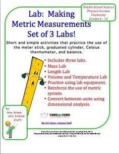science lab about metric measurement essay Measurement lab is a partnership between new america's open technology institute, google open source research, princeton university's planetlab, and other supporting partners learn more about m-lab home.