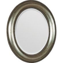 """View the Ren Wil MT677 Bellini 31"""" Height Oval Mirror at LightingDirect.com. 31x25"""