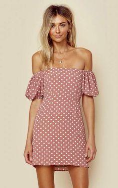 Endless summer off shoulder elsa mini dress