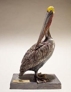 Nick Mackman - Clay Bird Sculptures
