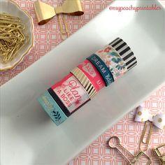 Plan Like a Boss Washi Tape Sample