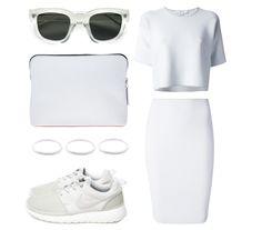 All white: Alexander Wang, Phillip Lim, Acne studios, Nike, StillWithYou.