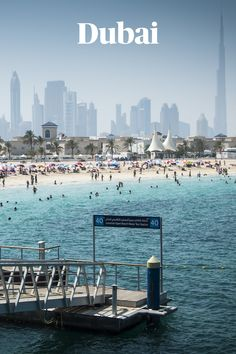 Auf nach Dubai – Sehenswürdigkeiten gibt es hier zu genüge, doch welche lohnt es sich zu besuchen und gibt es auch Geheimtipps? Diese Fragen haben wir uns auch gestellt und sind mit unseren Experten auf spannende Antworten gekommen. New York Skyline, Beach, Water, Dubai Travel, Hush Hush, City, Travel, Tips, Gripe Water