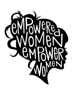 Empowered Women Empower Women Art Print by Kasi Turpin | Society6