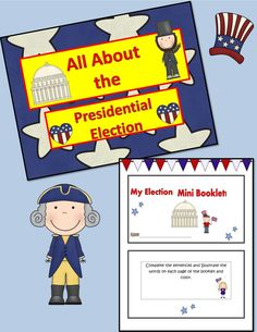 Publishers :: Tech Girl :: All About the Presidential Election!{Mini Booklet & Slideshow}