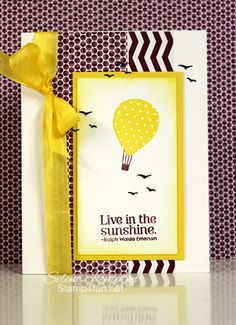 Stamp 4 fun with Selene Kempton: 3/4 Pursuit of Happiness, Up, Up & Away, Sycamore street Designer Paper
