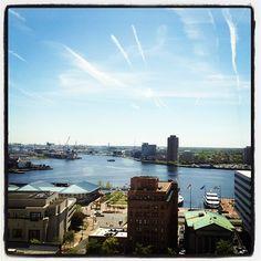 view from the 20th floor of Dominion Enterprises...beautiful! www.dominionenterprises.com