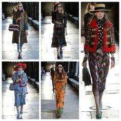 #poramaisb - Coleção Cruise da Gucci no Inspirations In <3<3 Love: mistura de décadas, cores, estampas e looks desejo imediato