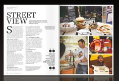In this Street Food article an image of our full menu and stall can be seen, where our 8oz Devon Beef Burger, Hippy Chicken, Hippy Halloumi, Taco of the Week and stall with our Root Brownies stall can be seen.