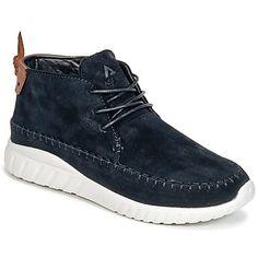 opvallende Asfvlt yuma dames sneakers (Zwart)