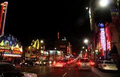 Panoramio - Photo of Los Angeles; Hollywood Blvd at night