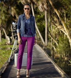 Fall Fashion: Colored Bottoms #beallsflorida