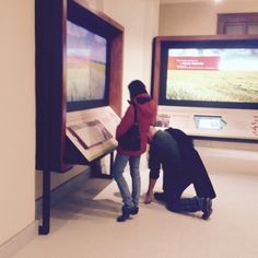 Guests exploring the educational exhibits in the basement. World Food Prize, Interactive Display, Exploring, Basement, Education, Root Cellar, Explore, Onderwijs, Research