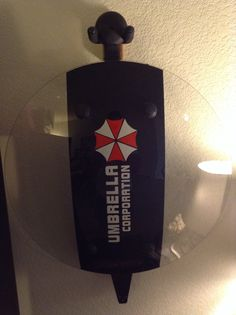 Day One Zombie survival starter kit. Cold Steel Gladius Machete, Polycarbonate Riot Shield with Resident Evil Umbrella Corporation Decals Sticker. Cold Steel Gladius, Zombie Apocalypse Party, Umbrella Corporation, Decals, Sticker, Resident Evil, Starter Kit, Bottle Opener, Weapons