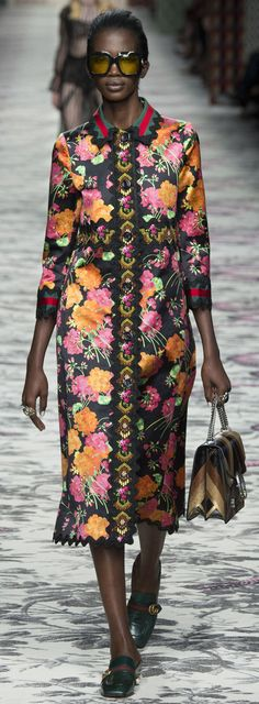 Gucci Spring Summer 2016 RTW Milan Fashion Week