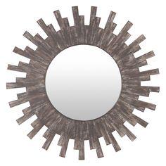 Sun Mirror, Sunburst Mirror, Wood Mirror, Round Wall Mirror, Mirror Glass, Jaipur, Oriental, Contract Design, Antique Items