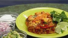 mama jess bien good stacked veggie enchiladas – as seen on let's dish