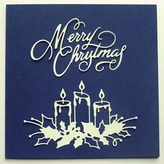 Buy 2019 C Burning Candle Metal Cutting Dies Stencils for DIY Embossing Scrapbooking Cut Die Album Hristmas Brithday Paper Card Craft New Design at Wish - Shopping Made Fun Die Cut Christmas Cards, Homemade Christmas Cards, Xmas Cards, Handmade Christmas, Merry Christmas, Christmas Bells, Christmas 2016, Holiday Cards, Christmas Ideas
