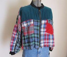 Vintage Flannel Plaid Jacket Shirt