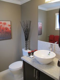 Parkside Estates - contemporary - powder room - richmond - Tien Sher Group of Companies