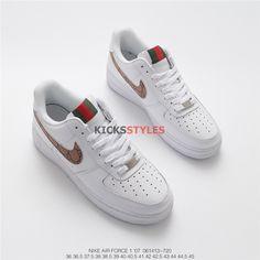 83d58c922 Nike Gucci Air Force 1 Custom Shoes
