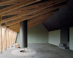 Thomas Kröger Architekt — Werkhaus Schütze | campfire indoors / fire