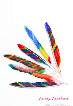 Easy Thanksgiving crafts for kids: Fancy Feathers