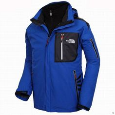 North Face Mens Triclimate 3 In 1 Jacket Blue