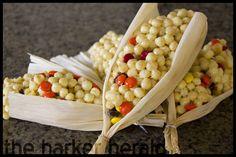 """Thanksgiving """"Corn"""" Marshmallow Treats"""