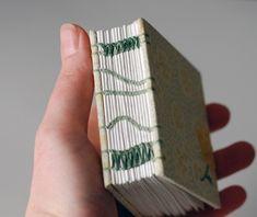 Coptic style by Natalie Stopka - tiny book