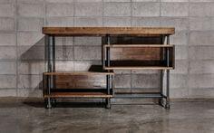 제품 설명 - 고무나무 18,24t와 흑관 파이프 20A(27mm)로 제작된 파이프 테이블입니다. - 18t 상판에 80t로 바를 더 둘러서 총 80t로 제작되었습니다. - 테이블 상판은 인도네시아산 고무나무 집성목을 사용 하였으며, 천연 오일로 마감 되어 있습니다. - 흑관 파이프는 가공