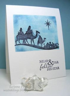 CAS94 Come to Bethlehem by LeAnne Pugliese - Cards and Paper Crafts at Splitcoaststampers