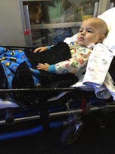 Vito having many seizures!  Poor baby. 10-1-15