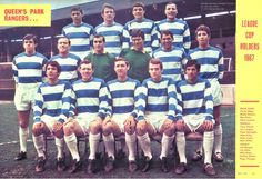 QPR team group in 1967-68.