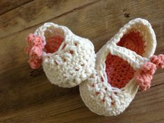 Baby Crochet Mary Janes By AnnooCrochet Designs