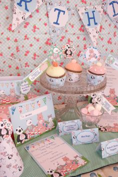 Teddy bear picnic party collection