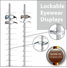 Eyeglass Frame Display Rods : 1000+ images about Eyewear Display-Rod on Pinterest ...