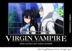 Strike the Blood Anime | Funny Kojou x Seras Victoria